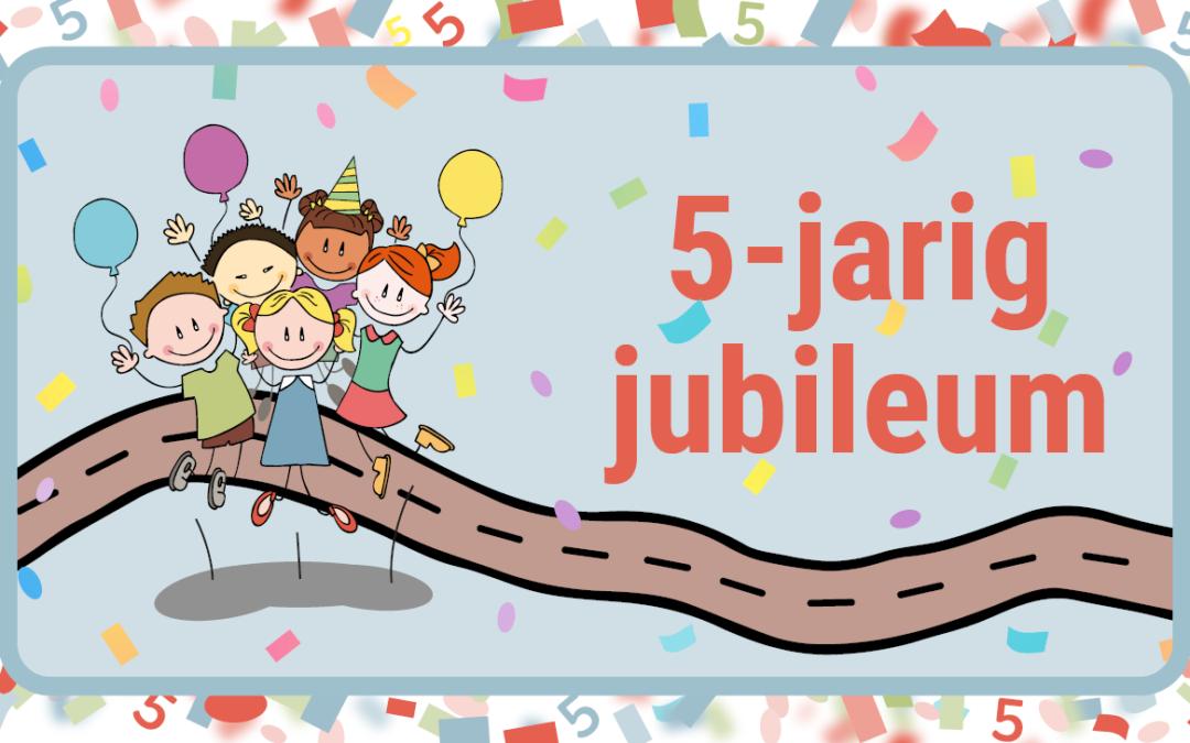 Stichting Uitgestelde Kinderfeestjes bestaat 5 jaar!
