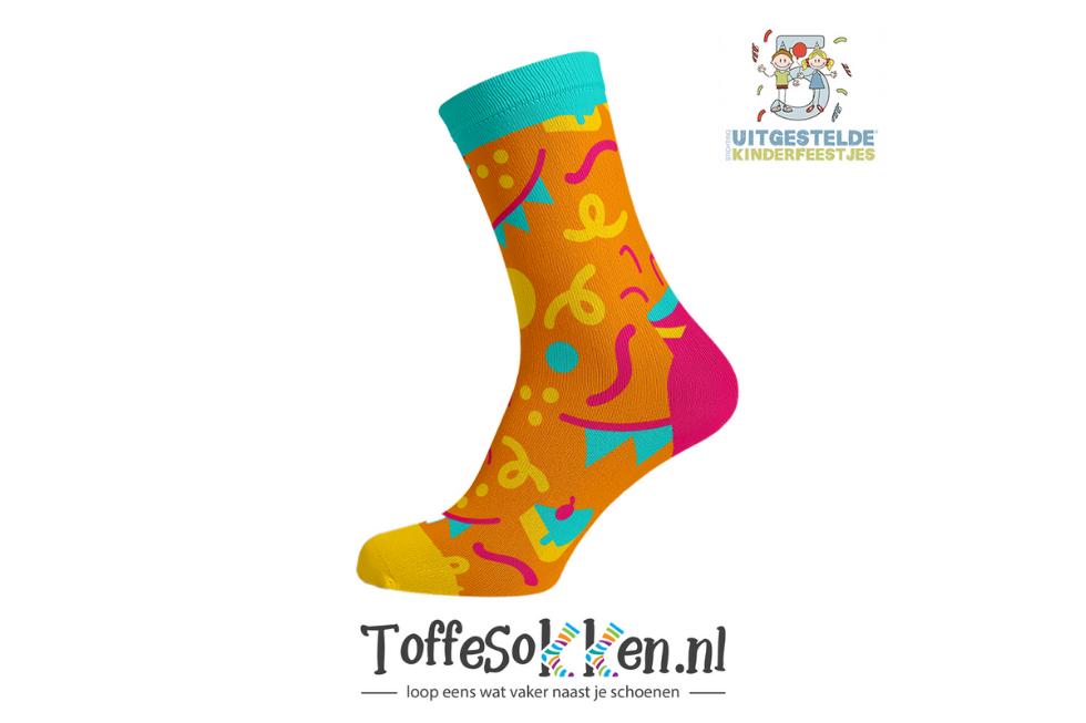 Actie van ToffeSokken.nl voor Uitgestelde Kinderfeestjes
